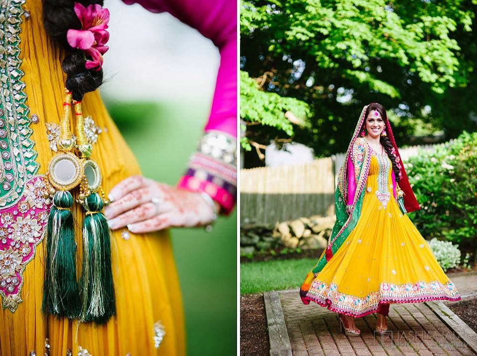 Mehndi Function Dresses : Mehndi dress check out more desings at