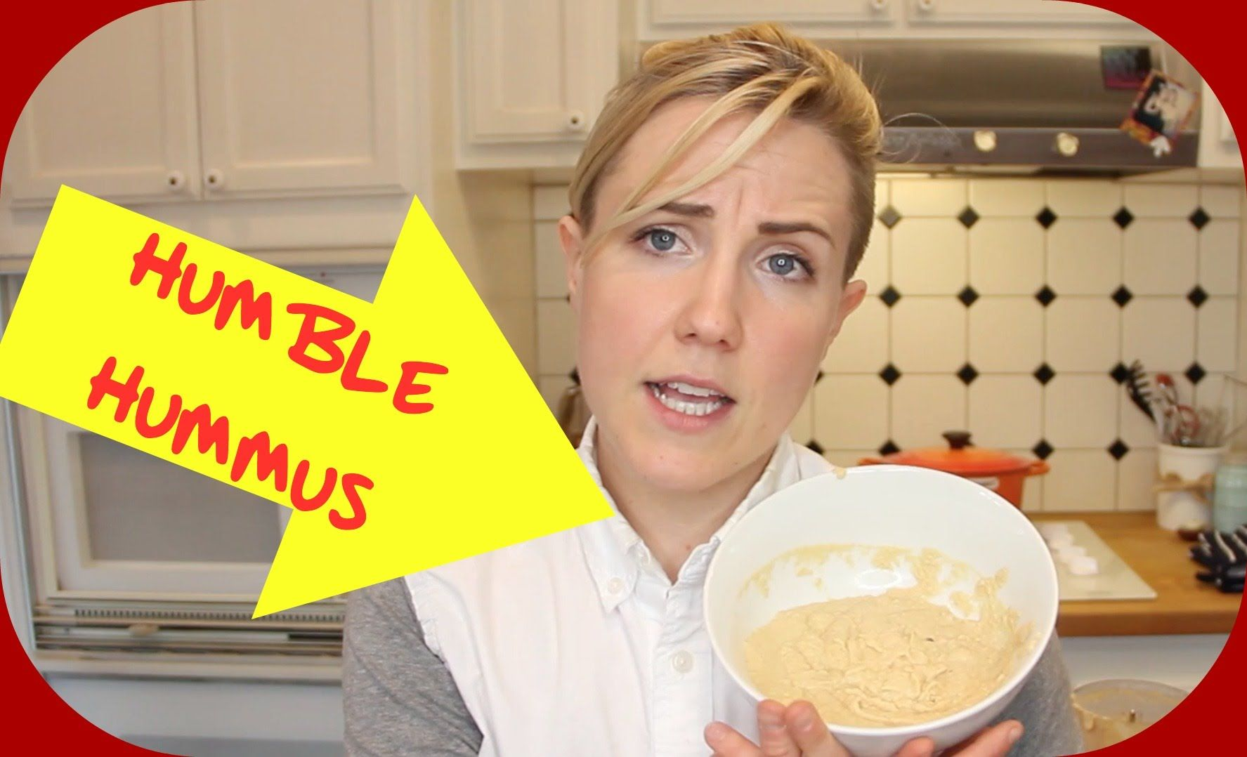 my drunk kitchen: humble hummus! what should i talk about next