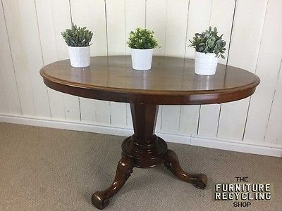 Victorian Tilt Top Dining / Breakfast table. Solid Mahogany Base, Trad – Furniture Recycling Shop
