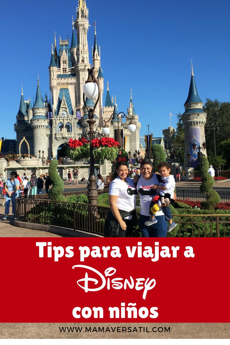 Viajar A Disney Con Niños Consejos Para Disney World Viaje A Disney World Vacaciones Disney