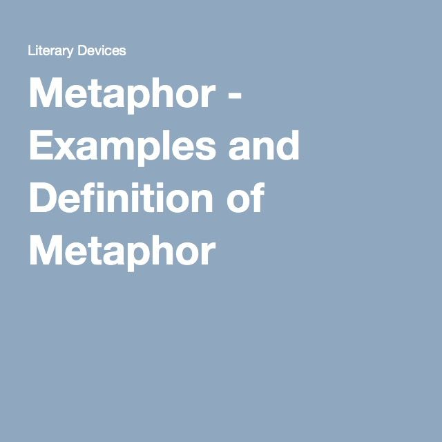 Metaphor Examples And Definition Of Metaphor Out Of The Dust