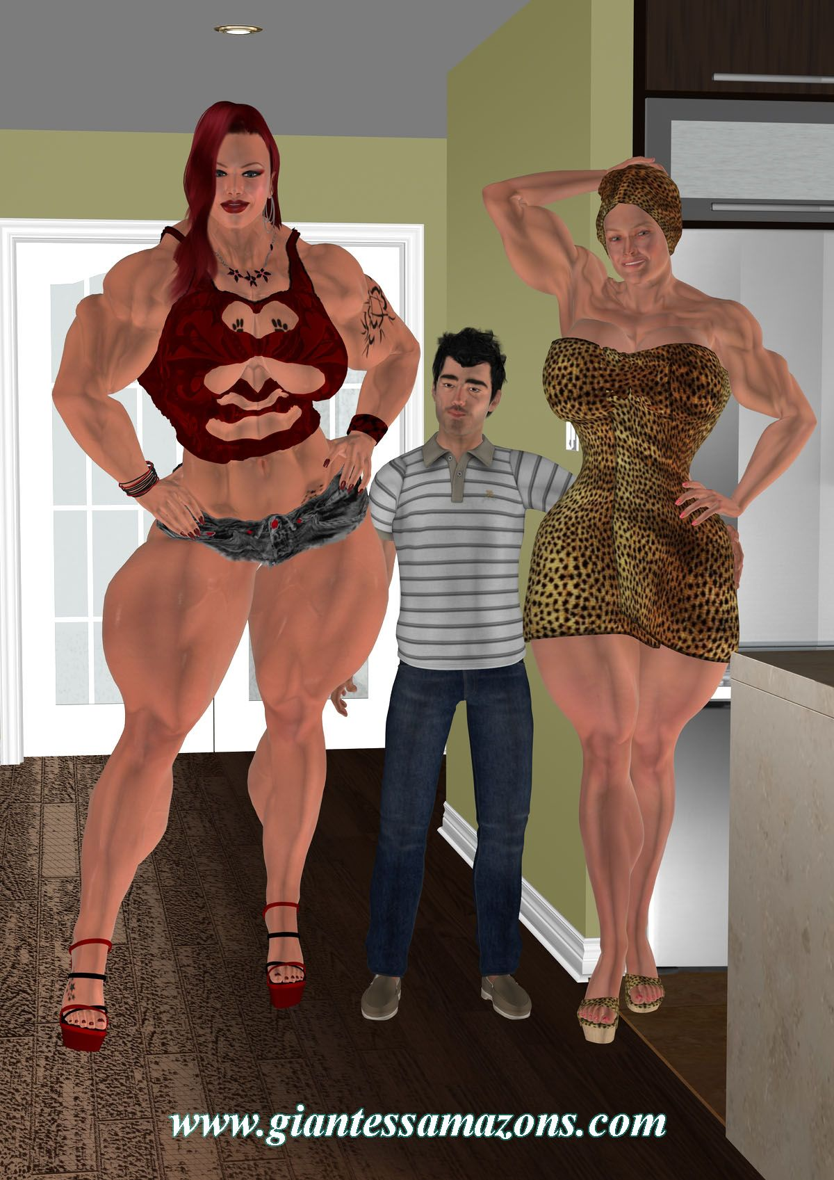 Wwwgiantessamazonscom Tall And Strong Women  Giantess -9376