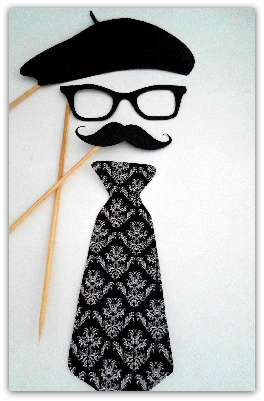 Props, Photobooth, Placas divertidas para fotografar. Paris, óculos, bigode,  gravata, boina. 9e80224940