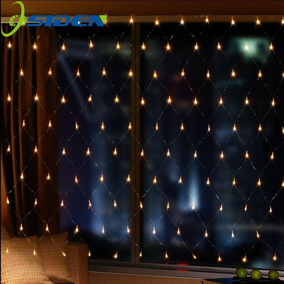 Depot Weihnachtsbeleuchtung.Osiden Led Weihnachtsbeleuchtung Licht Net 1 5 Mt X 1 5 Mt 3x2 Mt 4