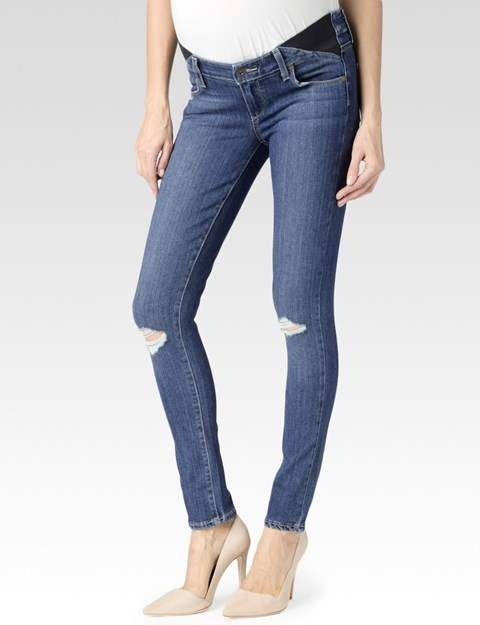 Verdugo Maternity - Quinnley Destructed #ad #maternity #genes #destructed I love the #shoes though 😆