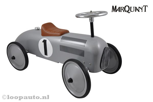 Marqaunt loopauto Classic Silver Racer.