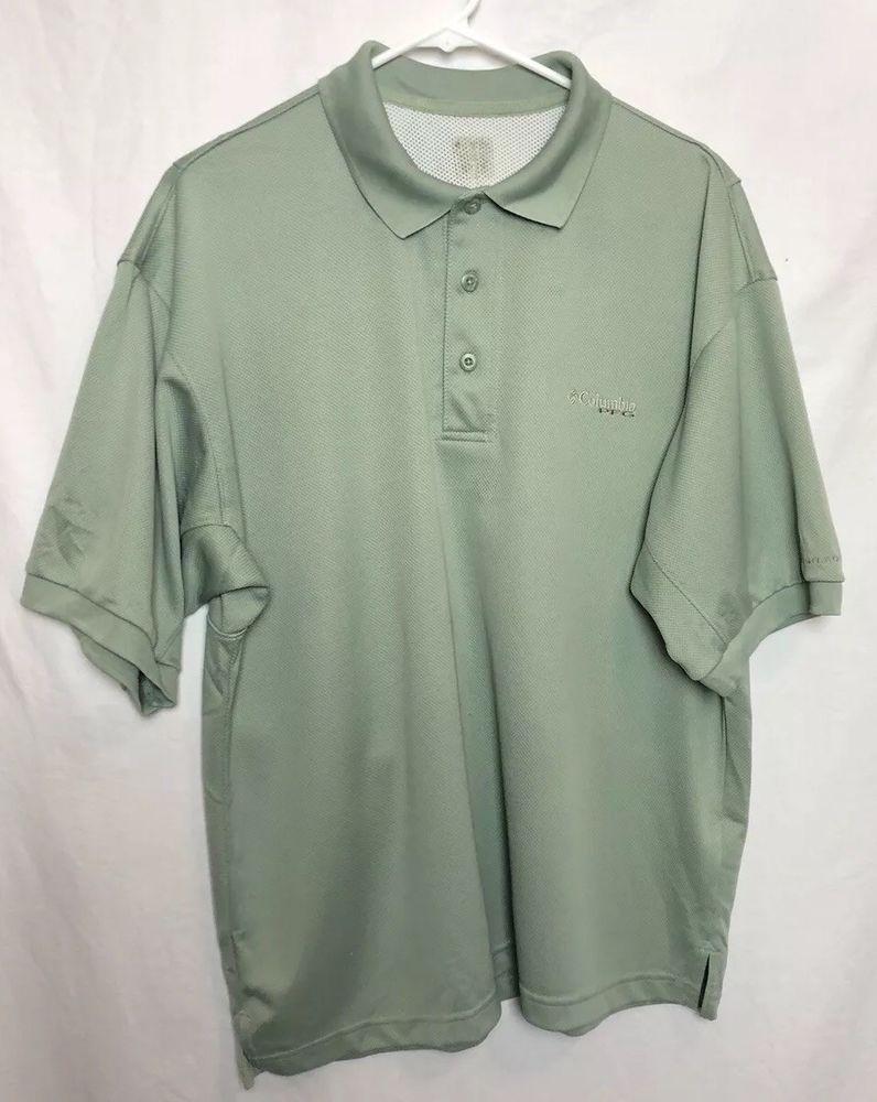 653b5143051 Columbia PFG Omni Shade Mens XL Vented Polo Green Fishing Hunting Shirt  #228 #fashion #clothing #shoes #accessories #mensclothing #shirts (ebay  link)