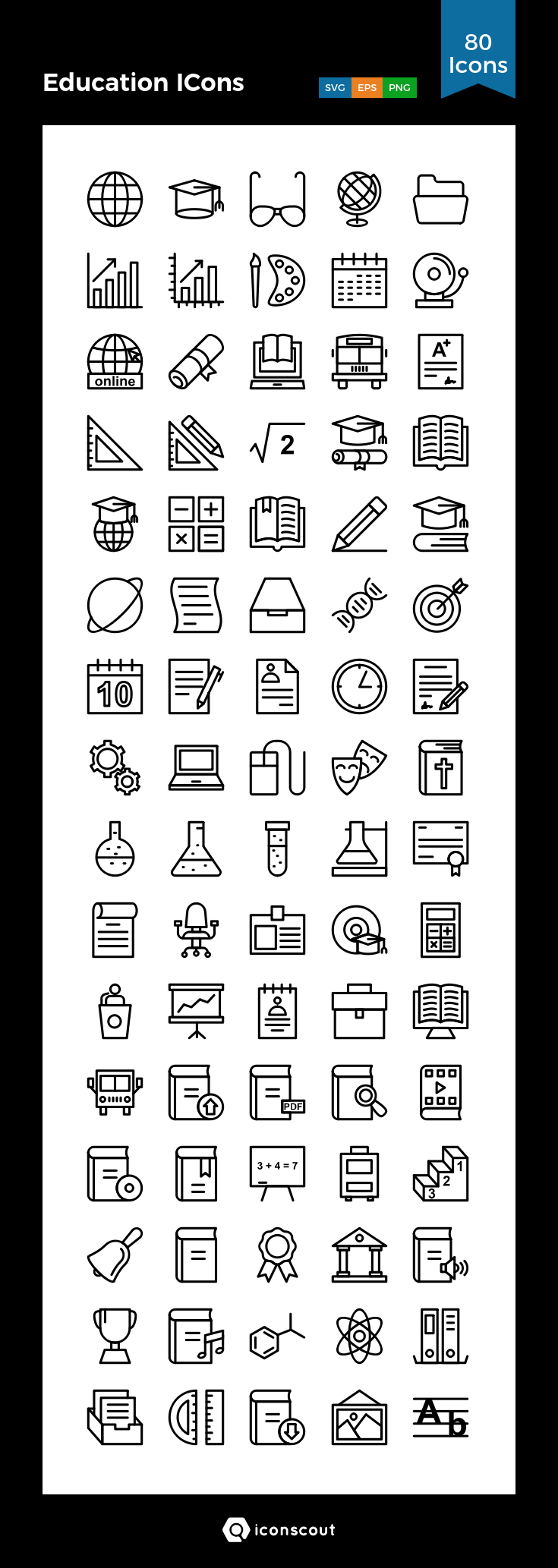 Download Education Icons Icon Pack Available In Svg Png Eps Ai Icon Fonts Education Icon Sketch Notes Work Icon