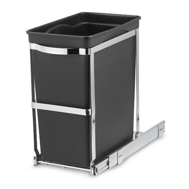 Best Simplehuman® 30 Liter Pull Out Waste Basket 400 x 300