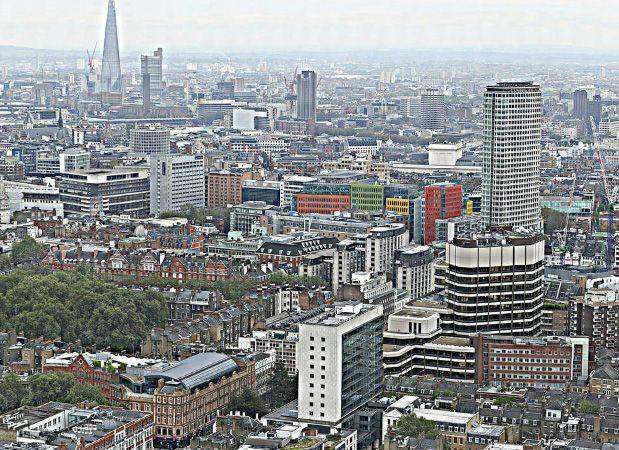 Maior panorâmica do mundo é captada em Londres