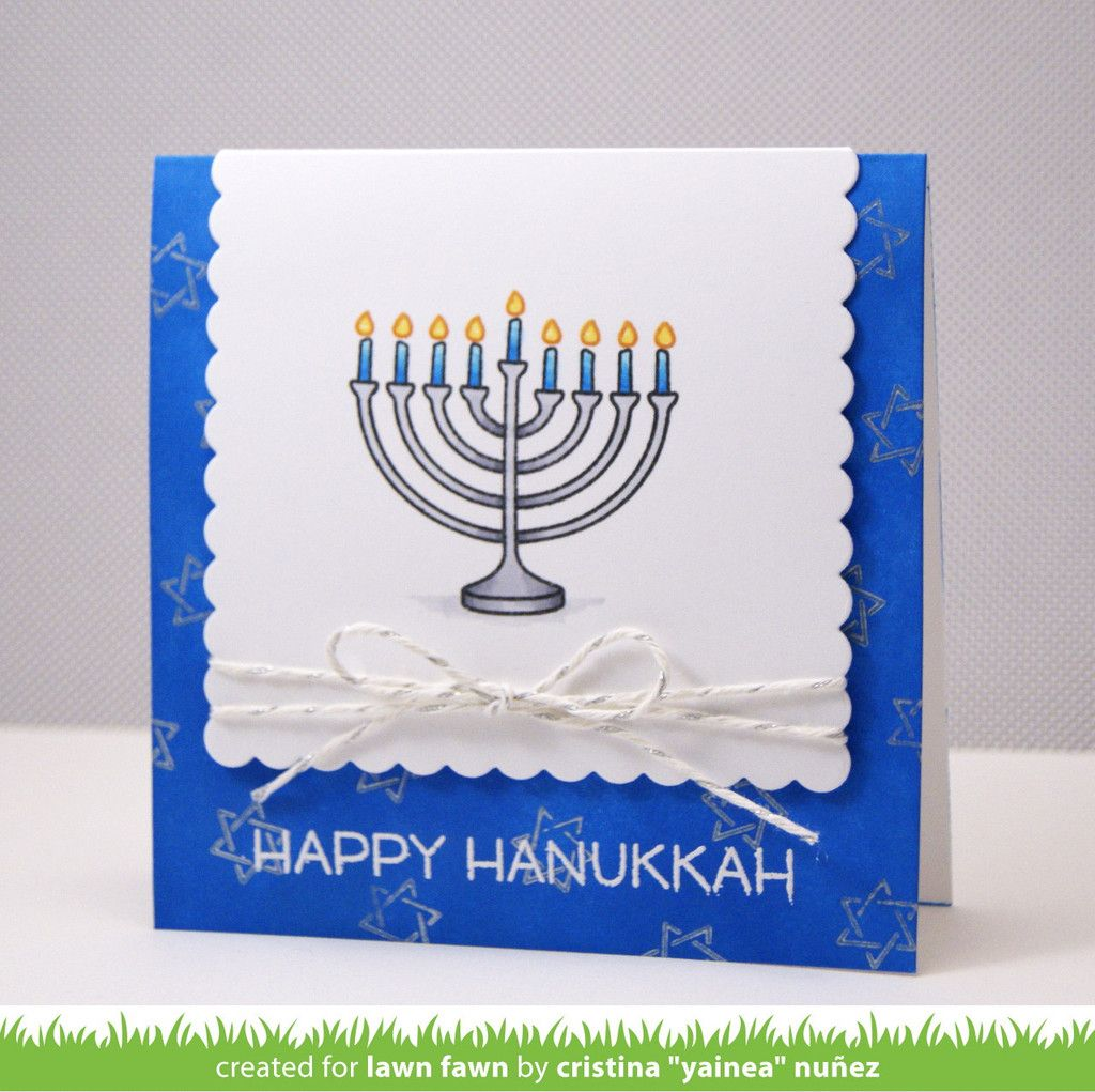 Love You A Latke Hanukkah Cards Pinterest Hanukkah Lawn Fawn