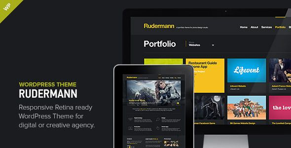 Rudermann - Responsive Retina Ready Theme | WordpressThemeDatabase ...