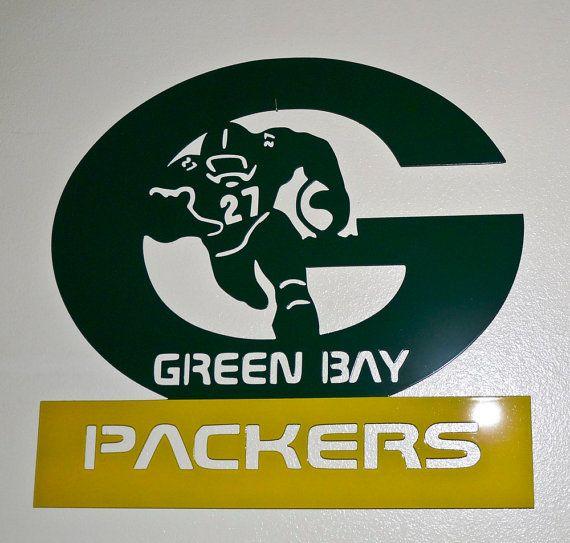 Greenbay Packers Football Wall Art Metal Art By Megametaldesigns 35 00 Football Wall Art Football Wall Metal Wall Art