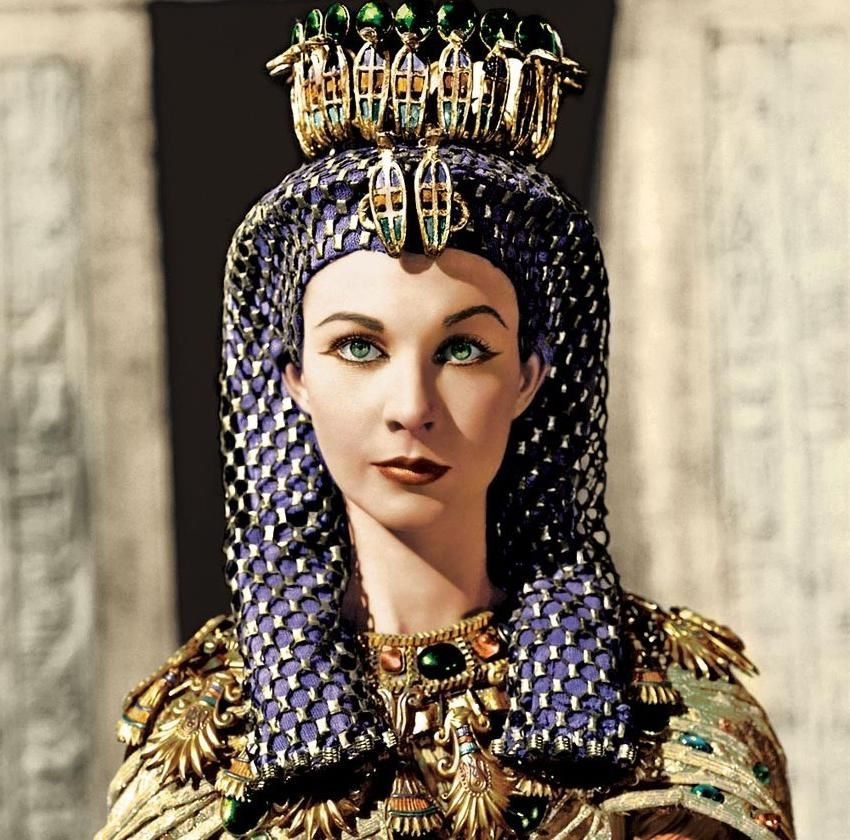 Image result for caesar and cleopatra vivien leigh