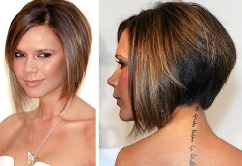 Layered Bob Hairstyles front and Back View | Layered Bob ...