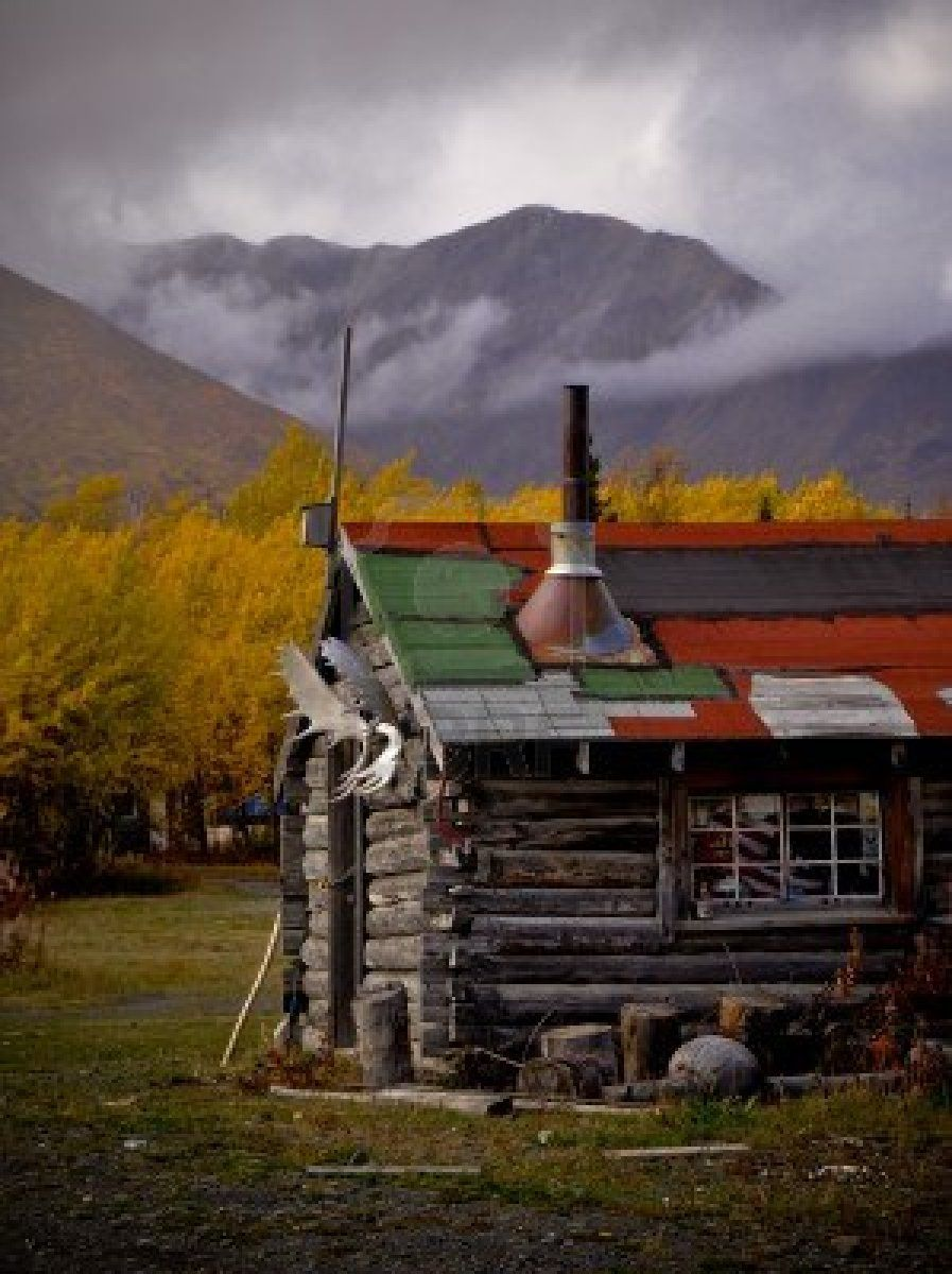 Native Cabin, Yukon Territory, Canada (pinned by redwoodclassics.net)