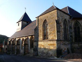 Eglise Medievale Saint Maurice De Naives Devant Bar A Naives Rosieres Meuse Eglise Chapelle Medieval