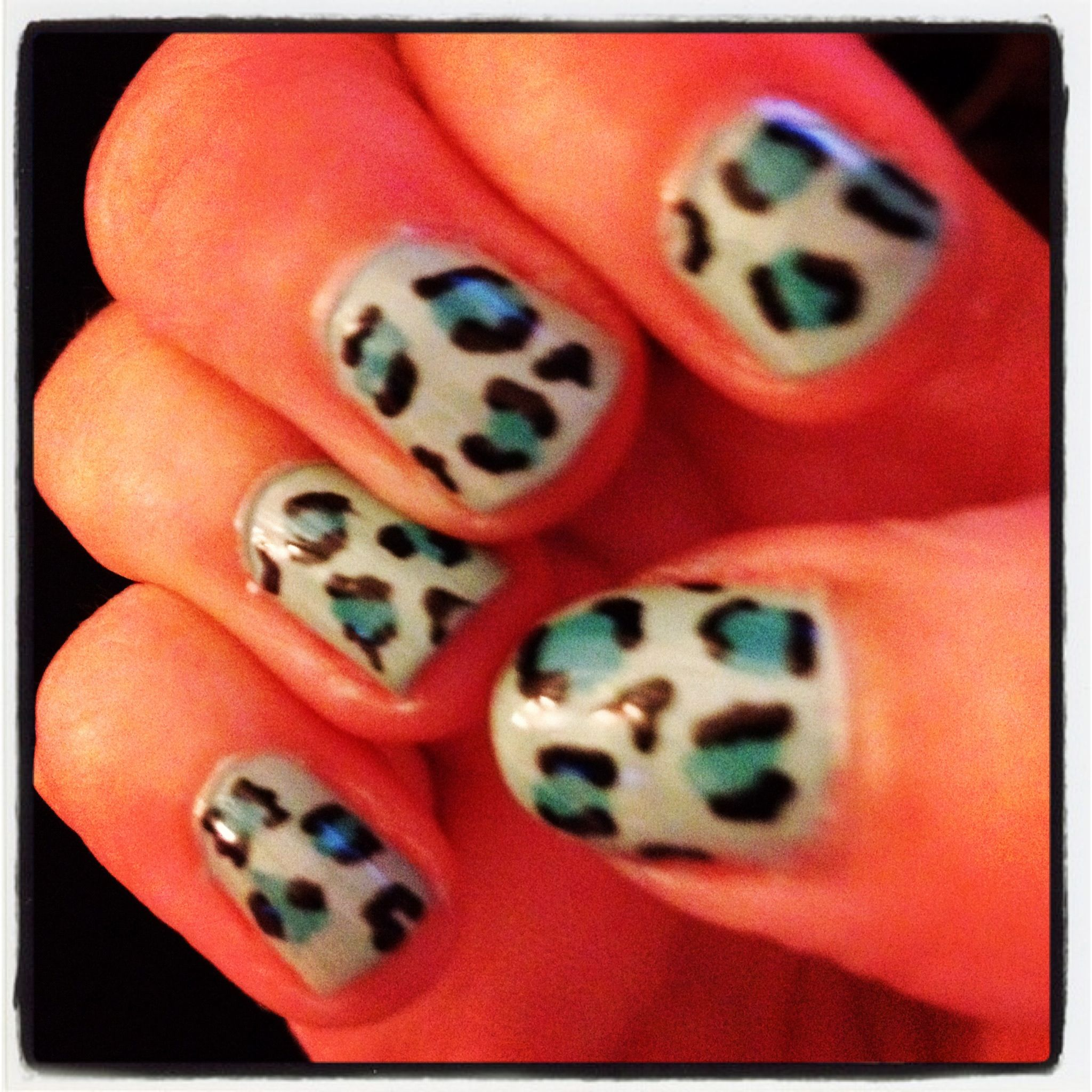 Elf Mint Green Models Own Turquoise And Black Nail Art Pen Nail