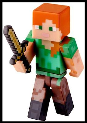 Seriously I Think It Needs Stitches Minecraft Mondays Block 4 Alex Minecraft Toys Minecraft Quilt Minecraft Toys Action Figures