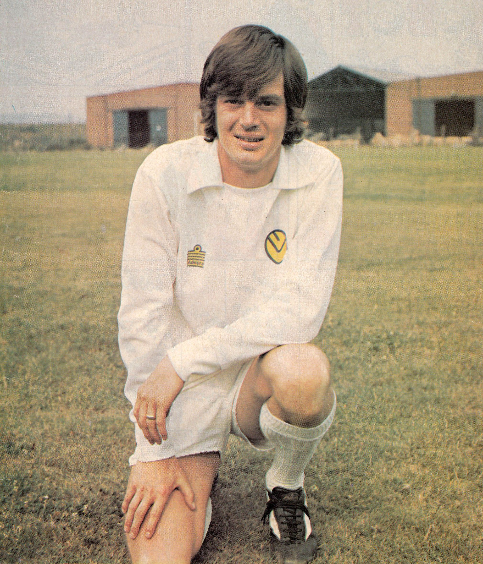 August 1974. Leeds United's £250,000 signing from Nottingham ...