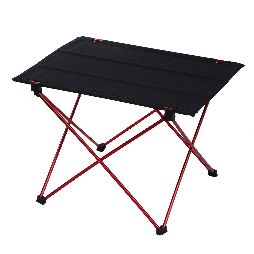 Ultra Light Aluminium Alloy Camping Folding Table Outdoor Tavel Picnic Portable Table Camping Table Outdoor Folding Table Indoor Picnic