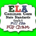 ELA Common Core State Standards Grade 8 Full Size Binder Flip Chart  PDF file. This is a great tool for any ELA teacher. We all need the CCSS on ha...