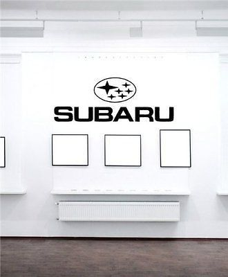 Subaru Racing Logo Emblem Wall Art Sticker Decal t89 & Subaru Racing Logo Emblem Wall Art Sticker Decal t89 | Voitures ...