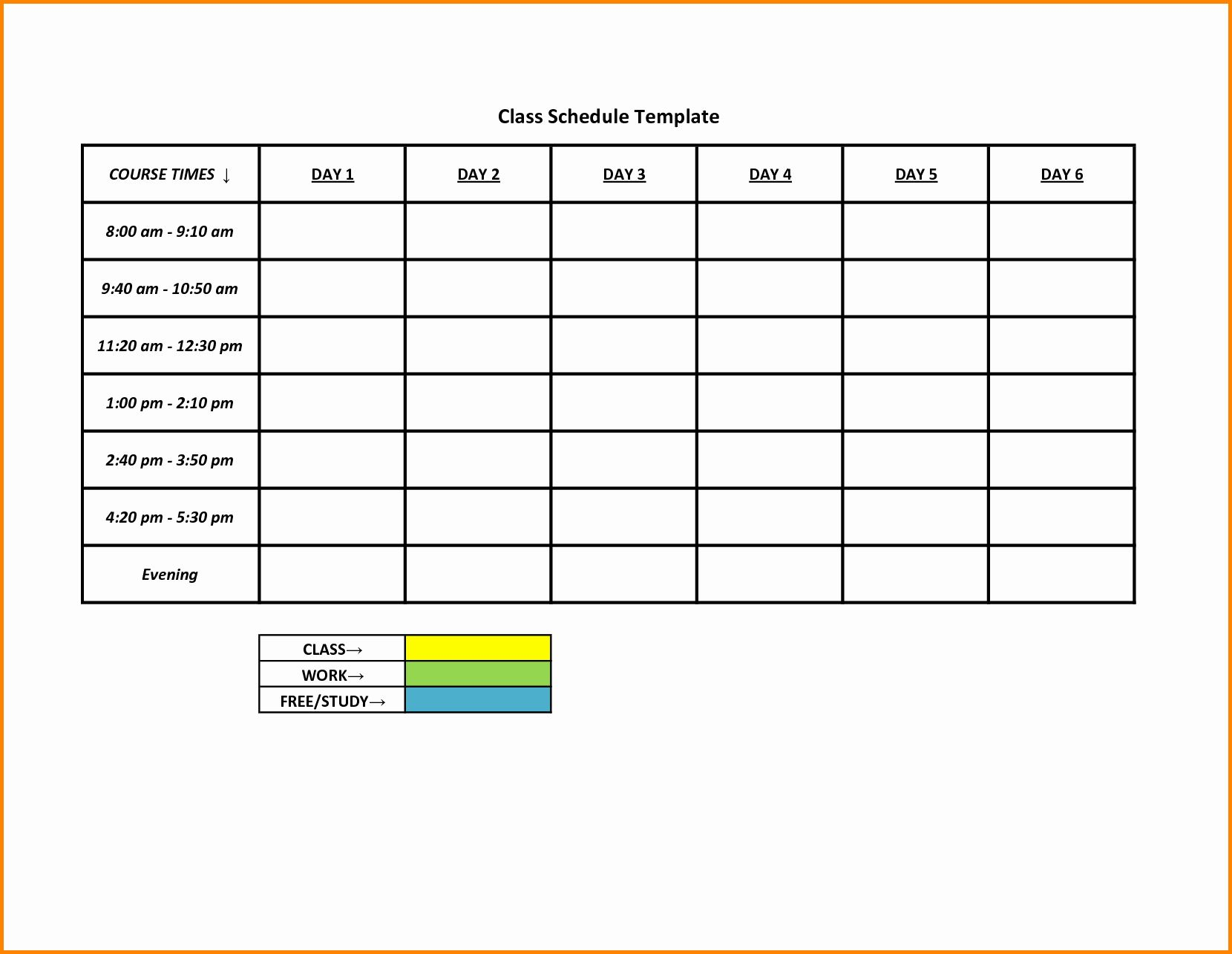 Blank Weekly Schedule Template Unique Weekly College Schedule Blank Weekly Shift Schedule Class Schedule Template Schedule Template Monthly Schedule Template
