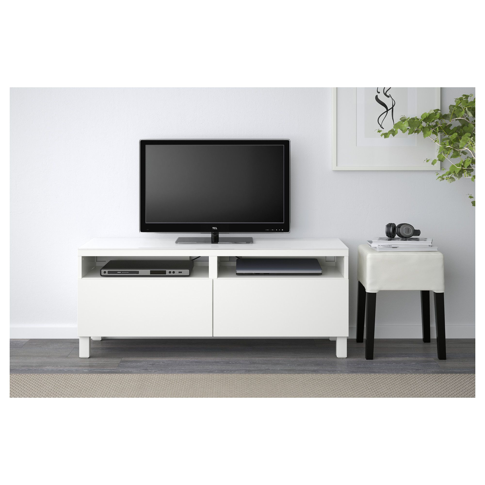 Ikea Best Tv Bench With Drawers Living Room Pinterest Tv  # Commode Television Ikea