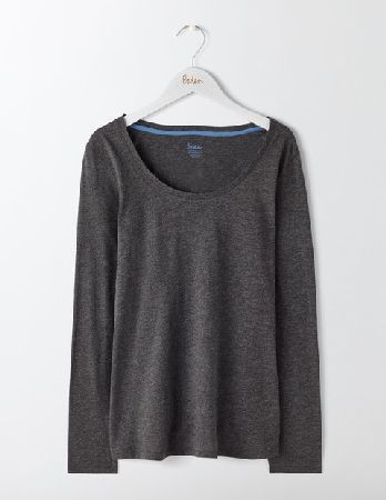 dc01bcdb0736c  Boden Supersoft Scoop Neck Top Charcoal Marl Women  A Boden Basics  essential