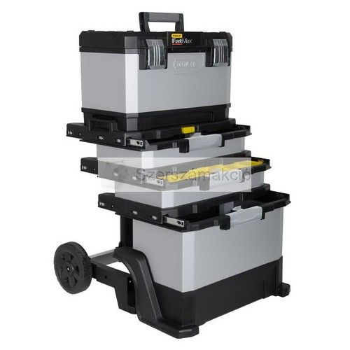 Stanley Fatmax Metal Plastic Rolling Work This Brilliant Toolbox Has Plenty Of Storage For All Your Tools Fixings And Accessories Is Ide