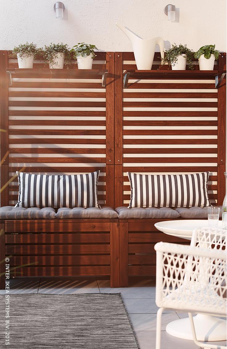 Applaro Mobilier D Exterieur Ikea Balkon Meubels Kleine Buitenruimten Balkon Decoratie