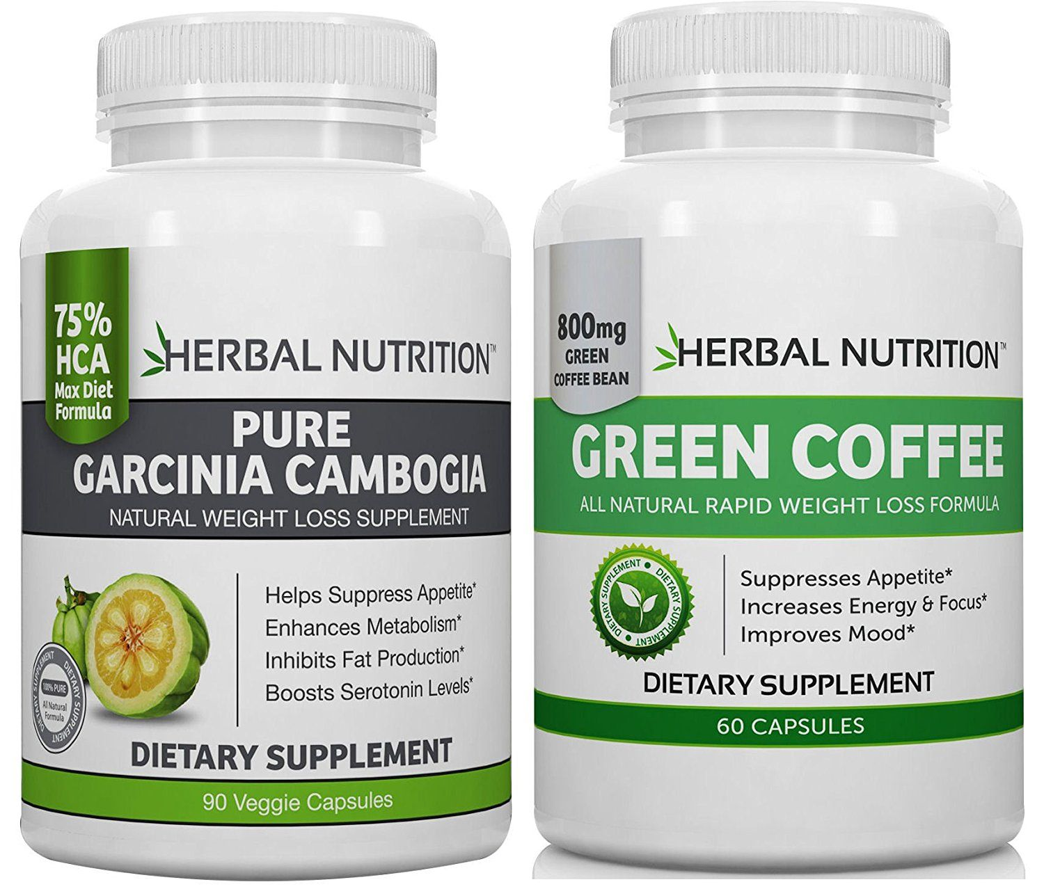no.1 DIET STACK GARCINIA CAMBOGIA and GREEN COFFEE BEAN