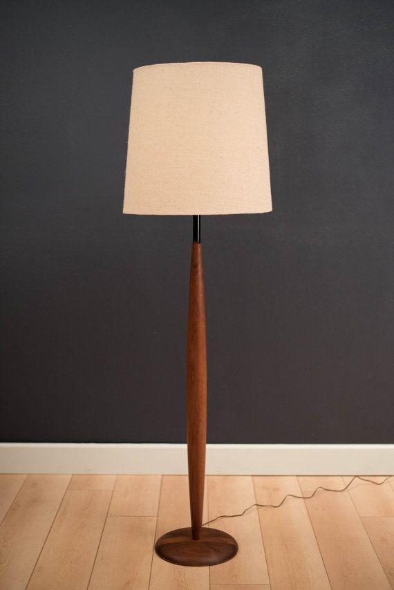 Mid century walnut floor lamp by midcenturymaddist on etsy mid century walnut floor lamp by midcenturymaddist on etsy aloadofball Images