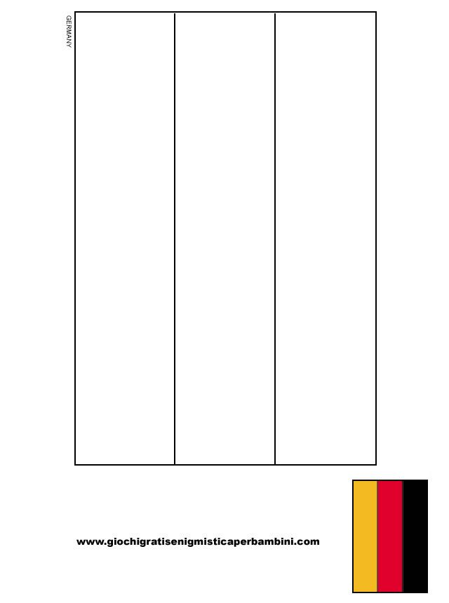 German Flag Flag Coloring Pages Coloring Pages German Flag