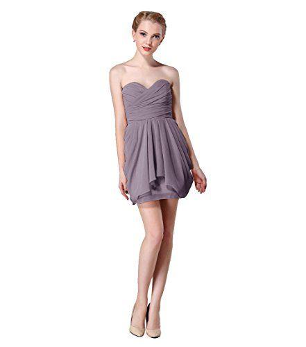 Wedtrend Short Bridesmaid Dress Sweetheart Chiffon Dress, Homecoming Dress Size 2 Grey Wedtrend http://www.amazon.com/dp/B012BZ8DG4/ref=cm_sw_r_pi_dp_UWeZvb0WY6YX9