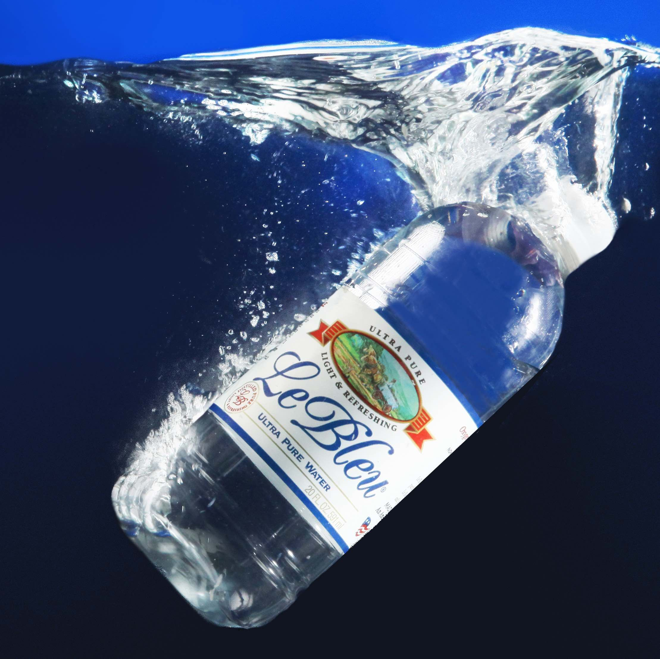 3 5gallon and bottled water le bleu water is ideal for