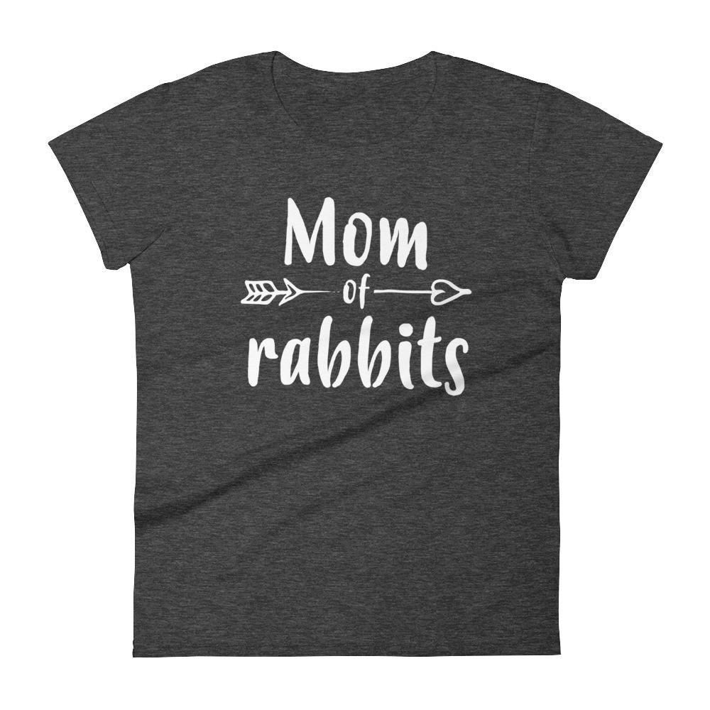 BUNNY RABBIT Mens Cotton TShirt, Moon Screen printed Shirt, American Apparel Animal Print Rabbit Clothing, Bunny Lover Gift