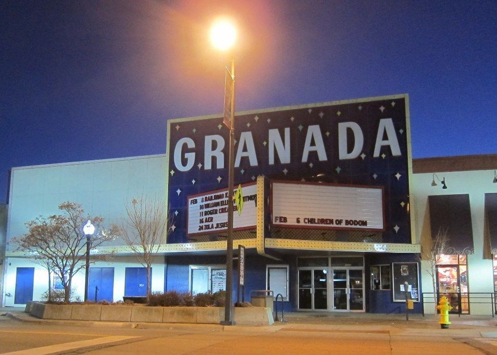 I M From Topeka But My Favorite Place Is The Granada I Also Love
