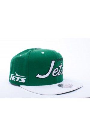 d3014b510d9  29.00    NewYork Jets Script  Snapback Green White