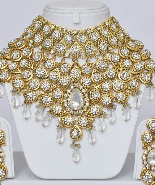 Heavy Indian Bridal Jewellery Indian Set With Stones Indian