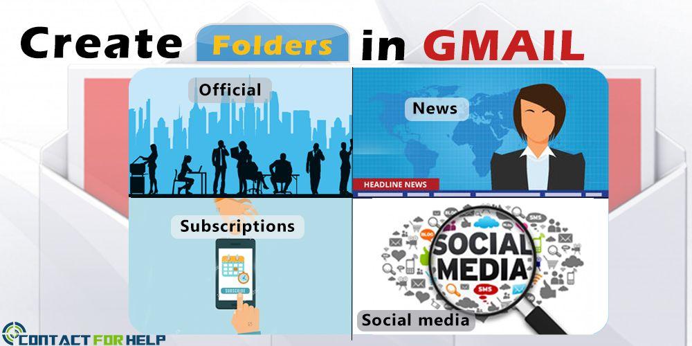 Steps to #CreateFoldersinGmail More: http://bit.ly/2b4CrzK #GmailSupportNumber