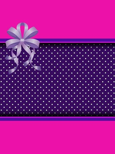 Cute Pink Purple Background Pink And Purple Background Bow Wallpaper Polka Dots Wallpaper