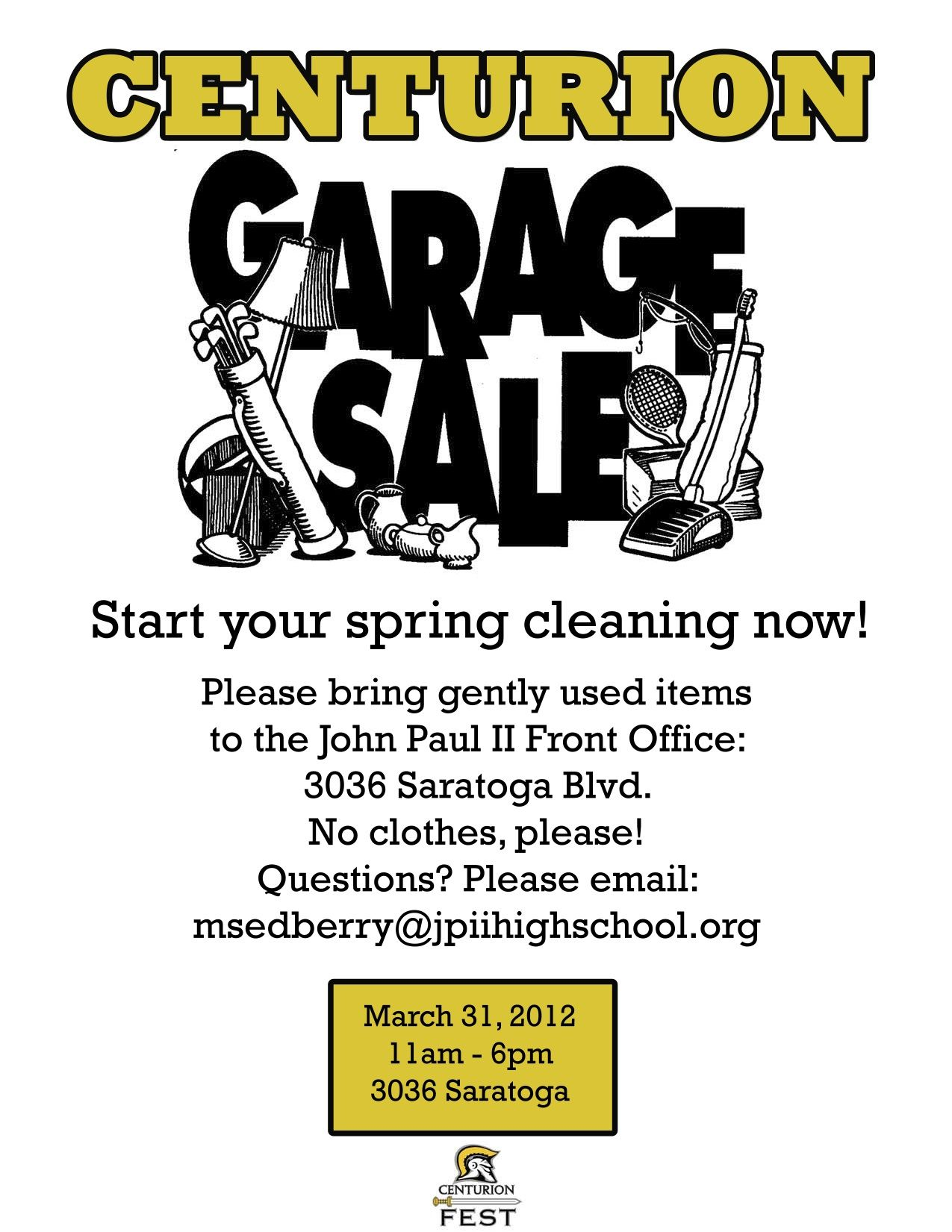 Community Garage Sale Flyer Template  Garage Sale