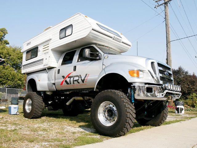 2004 Ford F650 Truck 2001 Lance 815 Camper F650 Trucks Truck