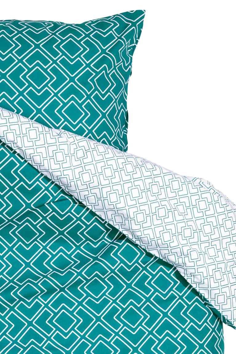 parure housse de couette h m wish list pinterest parure housse de couette couettes et. Black Bedroom Furniture Sets. Home Design Ideas