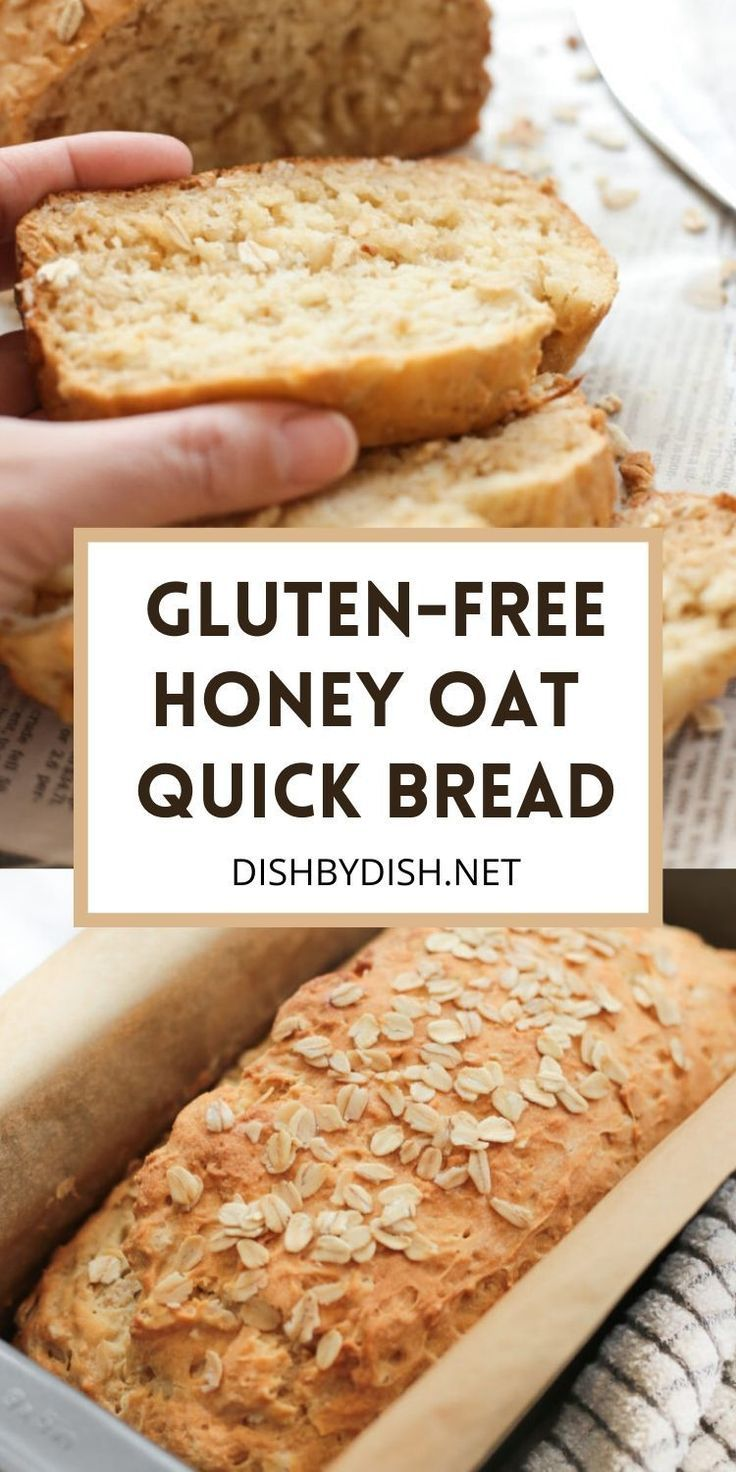 Gluten Free Honey Oat Quick Bread Dish By Dish Recipe In 2020 Gluten Free Bread Rolls Recipe Gluten Free Sweet Gluten Free Recipes Bread