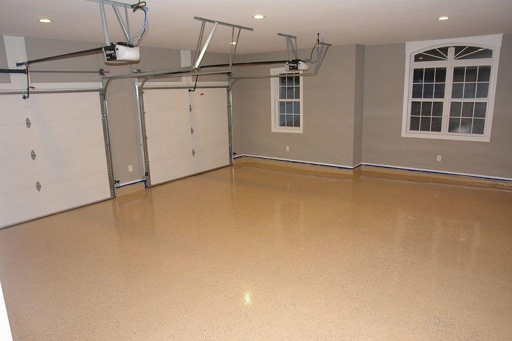 Epoxy Floor With Chips Garage Floor Coatings Flooring
