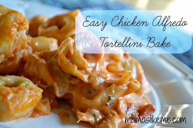 Easy chicken tortellini bake recipes tortellini bake