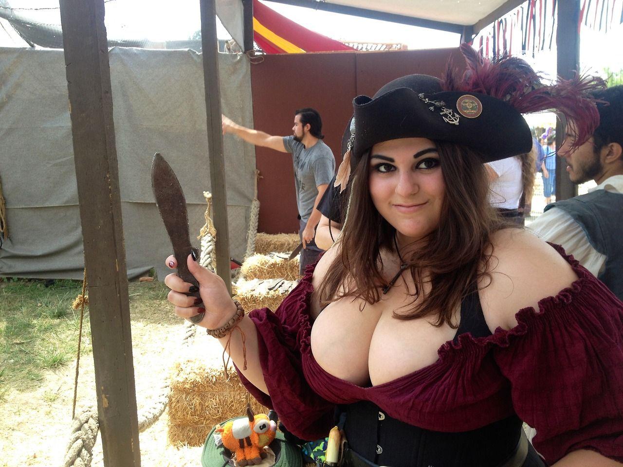 Renaissance fair boob pics